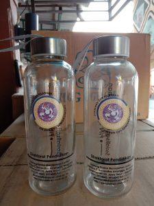 Botol minum kaca 420ml